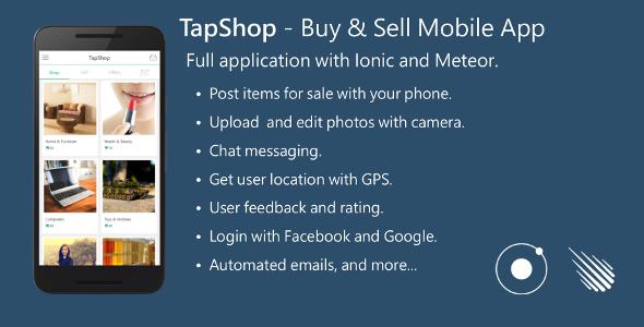 دانلود سورس کد خرید و فروش نرم افزار موبایل codecanyon – Buy & Sell Mobile App – Full Application