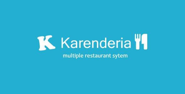 دانلود اسکریپت Karenderia Multiple Restaurant System v4.4
